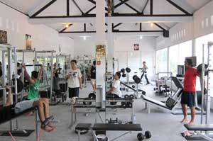 Gladiator Fitness Interior